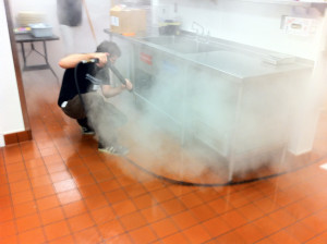 steam cleaning