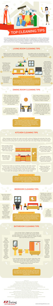 Cleaning Tips- Infographic- IE